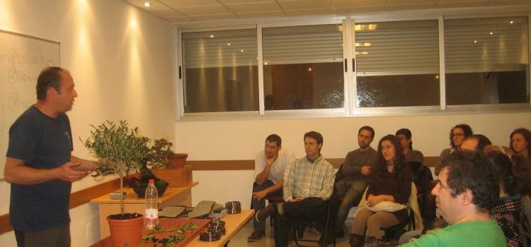 Cursos de Bonsai para La Diputación de Malaga ( en la Caja Blanca)